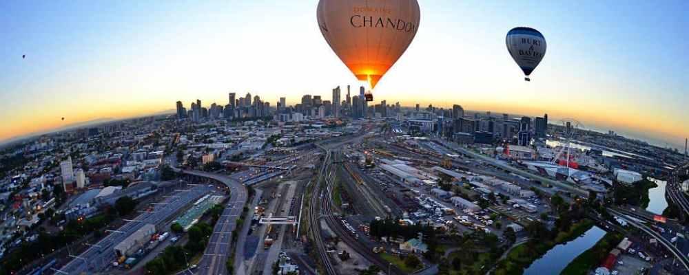 Melbourne City Balloon Flight