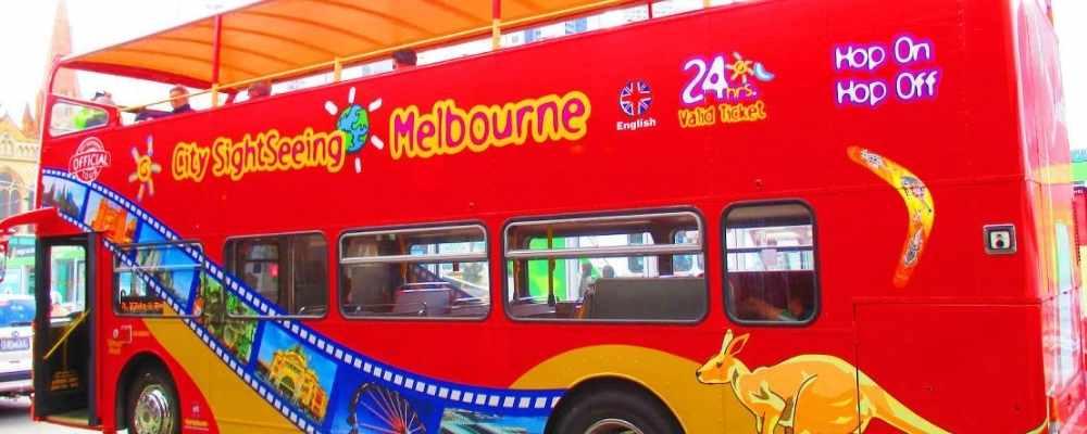 Melbourne Hop on Hop off Bus