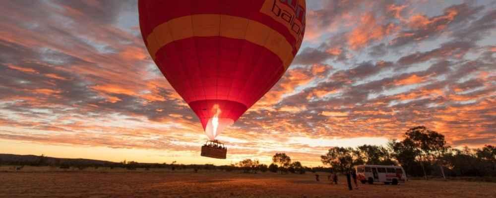 Alice Springs Hot Air Balloon Flight