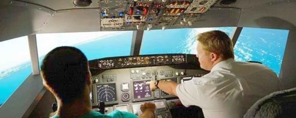 Canberra Jet Flight Simulation